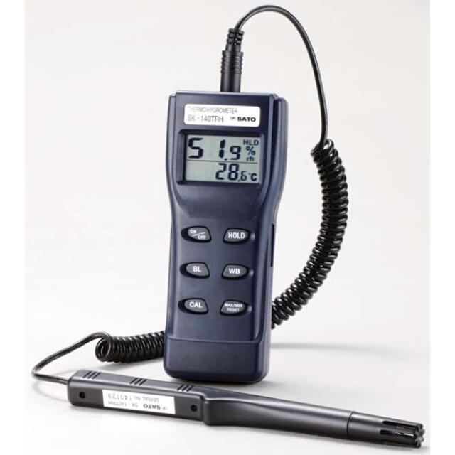 デジタル温湿度計:SK-140TRH:No.8134-00<佐藤計量器>