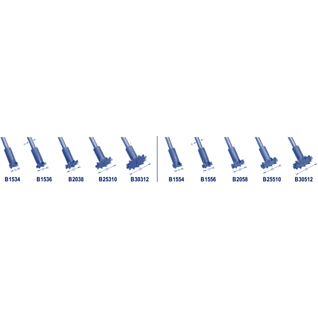 東京オートマック 木彫機 回転工具用 盆栽用ビッグボーンカッター フルセット 10本組 #57000<AUTOMACH>