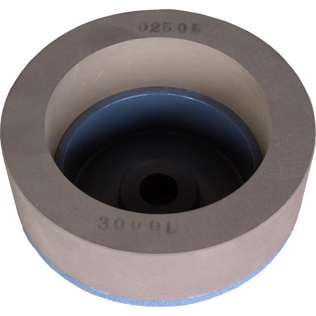 山戸(やまと) スーパー研磨機用仕上カップ砥石 100mm×50mm×14mm穴<山戸製作所>