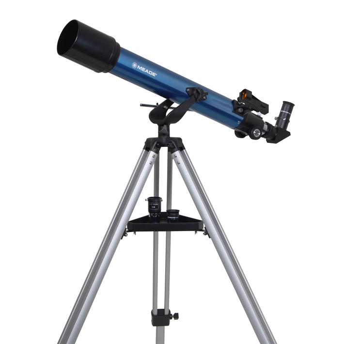 MEADE 口径70mm 屈折式 経緯台式 天体望遠鏡 AZM-70