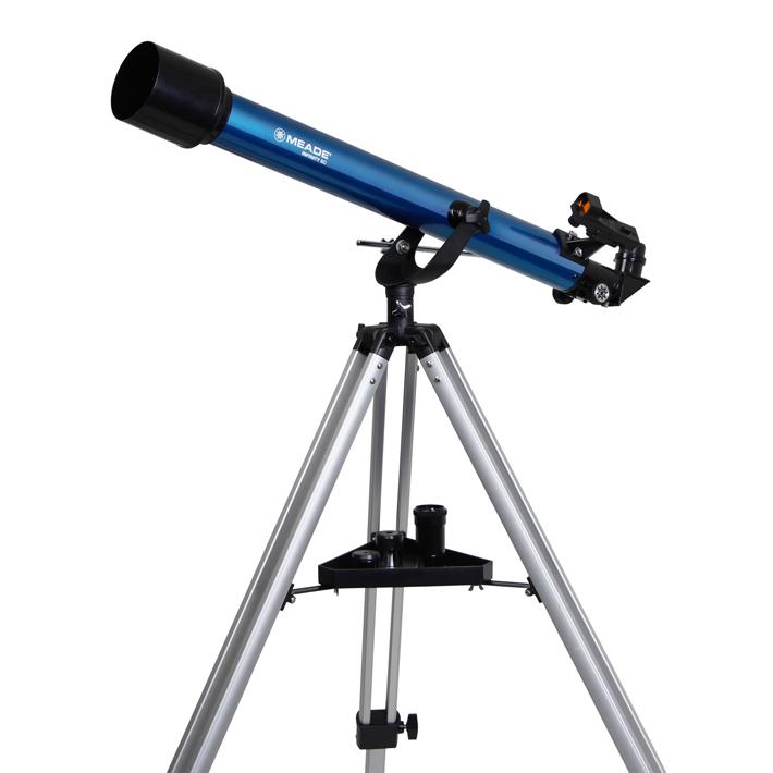 MEADE フォーク式 経緯台採用 口径60mm 屈折式 天体望遠鏡 AZM-60