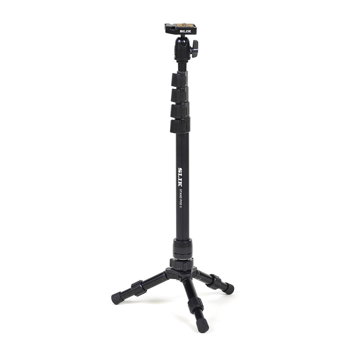 ケンコー・トキナー SLIK スタンドポッド5 STAPOD5 カメラ ビデオ 全高1540mm 一脚