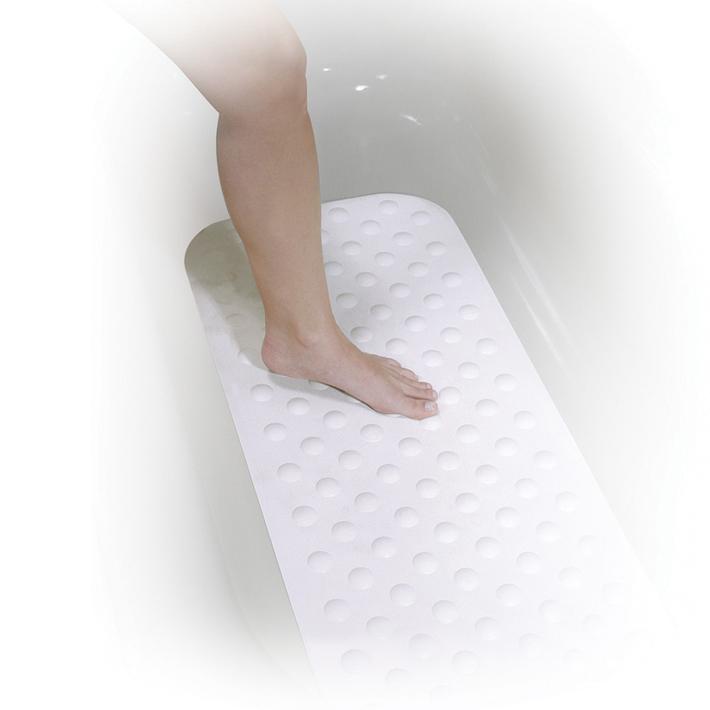 バスマット 浴槽 転倒防止 すべり止め 吸盤 浴室 ゴム素材 危険防止 介護 高齢者 浴槽内
