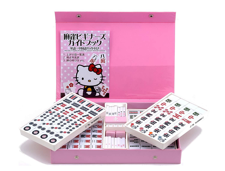 【送料無料(※北海道・沖縄・離島は除く)】サンリオ ハローキティ麻雀牌 Hello Kitty
