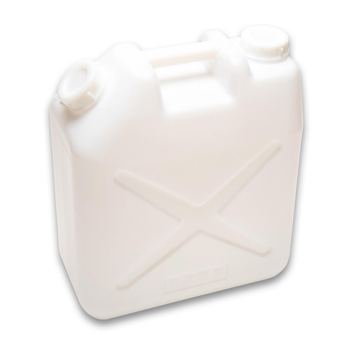 ※ノズル無し 便利なポリ缶 用途は様々 貯水 レジャーなど容量20Lで大活躍 4個まで送料は1個口 4個以上ご購入の場合は5個セット 10個セットをご用意しております ポリタンク 水タンク 日本未発売 低価格化 白 レジャー 20L ポリ缶 水缶 ノズル無し