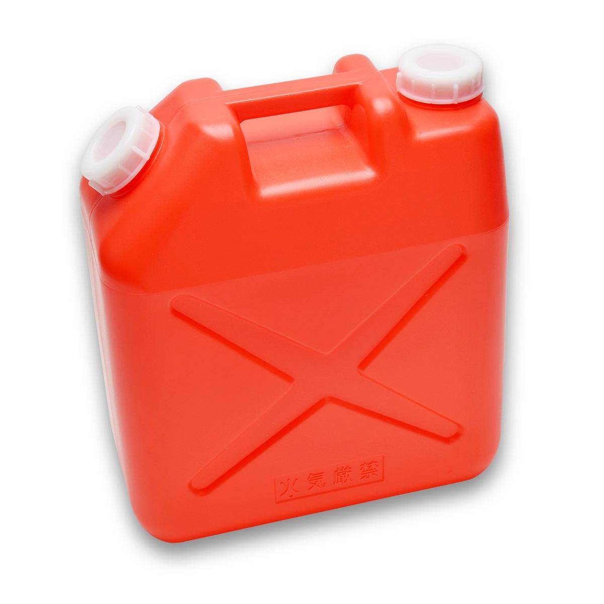 あれば便利なポリ缶 用途は様々 使い勝手の良い 貯水 レジャーなど容量20Lで大活躍 4個まで送料は1個口 4個以上ご購入の場合は5個セット 10個セットをご用意しております 20L レジャー 正規店 ポリタンク ポリ缶 赤 水缶 水タンク ノズル無し