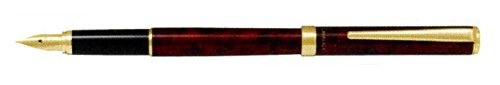【メール便OK】パイロット 万年筆 カヴァリエ(細字) ブラック&レッド FCAN-5SR-BRF