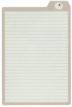 下敷きとしてはもちろん 日本全国 送料無料 付箋やシールを貼る台紙として使ったり マスキングテープの持ち歩きにも便利です MDS 下敷き 大人のシタジキ Vol.4 ヒツジ 在庫一掃売り切りセール A5 38-033