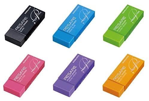 コクヨのカラー消しゴムのアソートセットです コクヨ 消しゴム リサーレ ランキング総合1位 与え プレミアムタイプ ケシ-90シリーズ セット 6色カラー