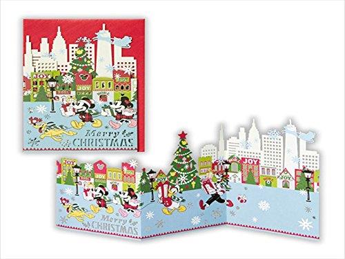 Hallmark Christmas Cards.Hallmark Christmas Cards Disney Laser Cut Pulse 709983 Mickey Minnie