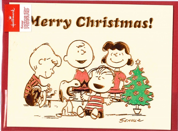 Snoopy Merry Christmas Images.Hallmark Christmas Solid Card Snoopy Snoopy Merry Christmas 710 149