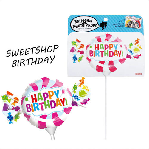Loconeko Balloon Photo Props Sweetshop Birthday Party Goods Photo