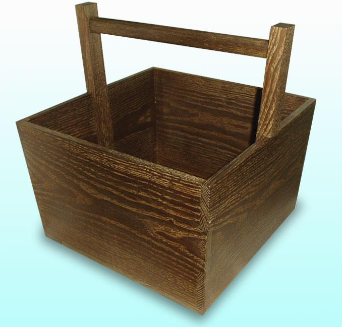 【茶道具】【送料無料】女桑製箱炭斗(ボール箱)