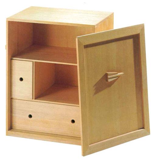 【茶道具】【懐石】懐石道具用木箱