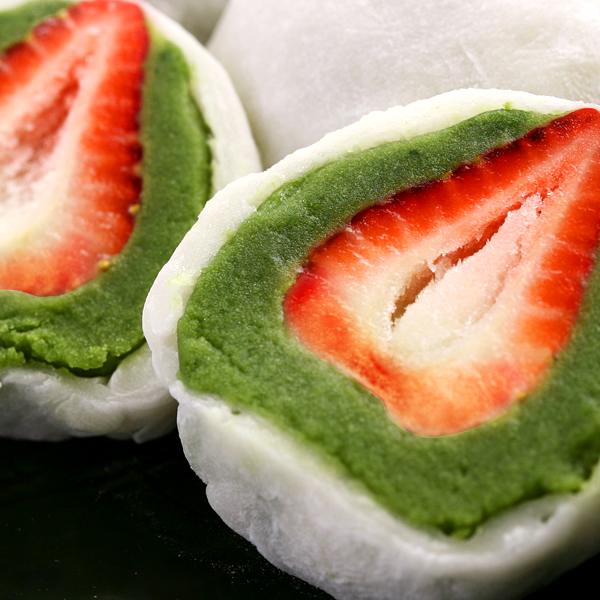 春に食べたい!見ため可愛い!イチゴ入りの美味しい和菓子のおすすめは?