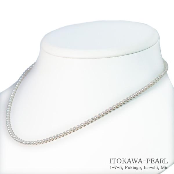 !超美品再入荷品質至上! あこや真珠ベビーパールネックレス 2.5~3mm アジャスター 無料サンプルOK K18YG N-12125 当店のクーポンを是非ご利用下さい