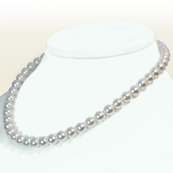 あこや真珠パールネックレス<8~8.5mm>N-11637【当店のクーポンを是非ご利用下さい】
