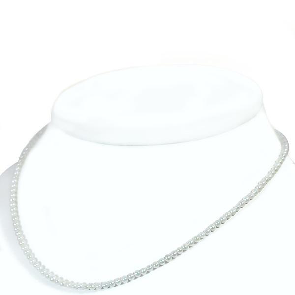 あこや真珠ベビーパールネックレス<2.5~3mm>アジャスター付・K14WG N-7046【当店のクーポンを是非ご利用下さい】