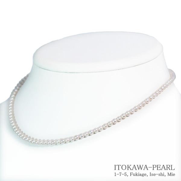 あこや真珠ベビーパールネックレス 3~3.5mm アジャスター 35%OFF 豪華な N-11781 K18YG 当店のクーポンを是非ご利用下さい