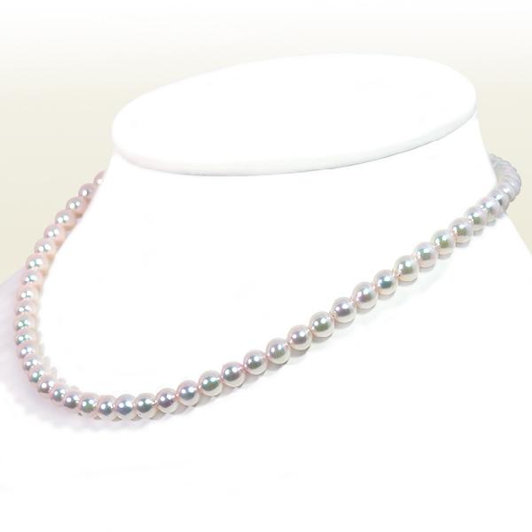 あこや真珠ベビーパールネックレス 高い素材 5.5~6mm 2020 新作 アジャスター 当店のクーポンを是非ご利用下さい N-11951 K18YG