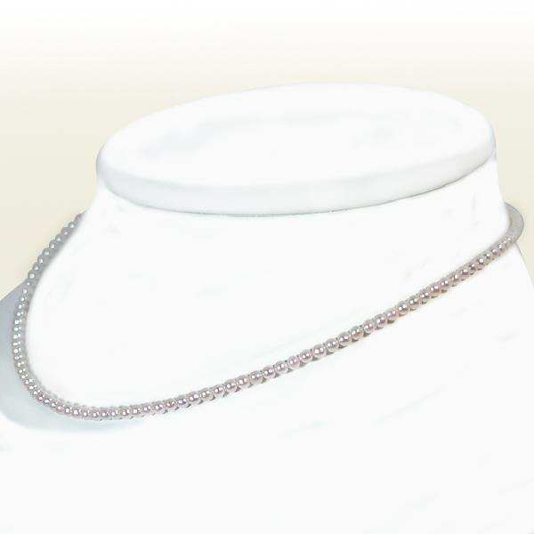 あこや真珠ベビーパールネックレス<2.5~3mm>アジャスター付・K18YG N-11532【当店のクーポンを是非ご利用下さい】
