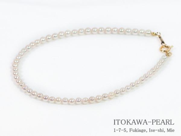 あこや真珠ブレスレット 2.5~3mm 引き輪とプレートタイプ K18YG 信頼 定番から日本未入荷 18cm 当店のクーポンを是非ご利用下さい V-1678