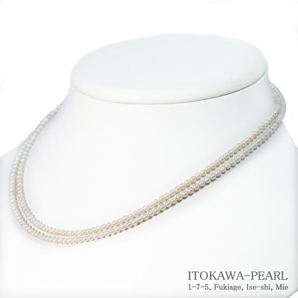 ギフ_包装 ベビーパールロングネックレス 売り出し 80cm あこや真珠ネックレス 2.5~3mm N-12279 当店のクーポンを是非ご利用下さい