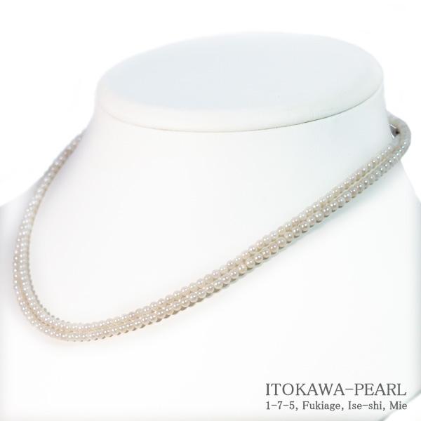 ベビーパールロングネックレス 80cm あこや真珠ネックレス N-12280 店 2.5~3mm 当店のクーポンを是非ご利用下さい 出色