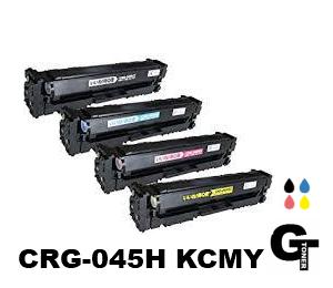 Canon キヤノン CRG-045H 選べる4本セット 互換トナー ◆送料無料【安心の1年保証・国内生産】 LBP-611C LBP-612C MF-632Cdw MF-634Cdw 045HK 045HC 045HM 045HY 4本 4色