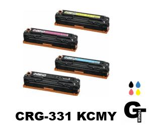 キヤノン Canon トナーカートリッジ331 CRG- 331 4本 セット KCMY リサイクルトナー Satera サテラ MF628Cw LBP7110C MF8230Cn LBP7100C MF8280Cw 4色