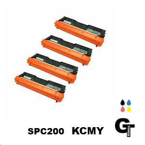 RICOH リコー SPトナーC200  選べる4本セット リサイクルトナー【安心の1年保証】◆送料無料 spc200 IPSiO SP-C250L SP-C250SFL