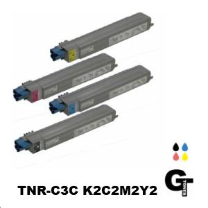 OKI 沖データ TNR-C3C*2 選べる4本セット リサイクルトナー ★送料無料★ 【安心の1年保証】