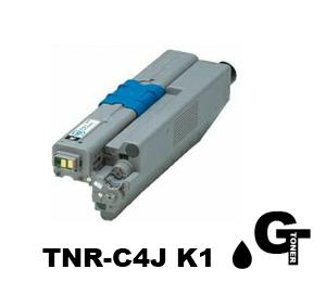 OKI 沖データ  TNR-C4J K1ブラック リサイクルトナー 【安心の1年保証】