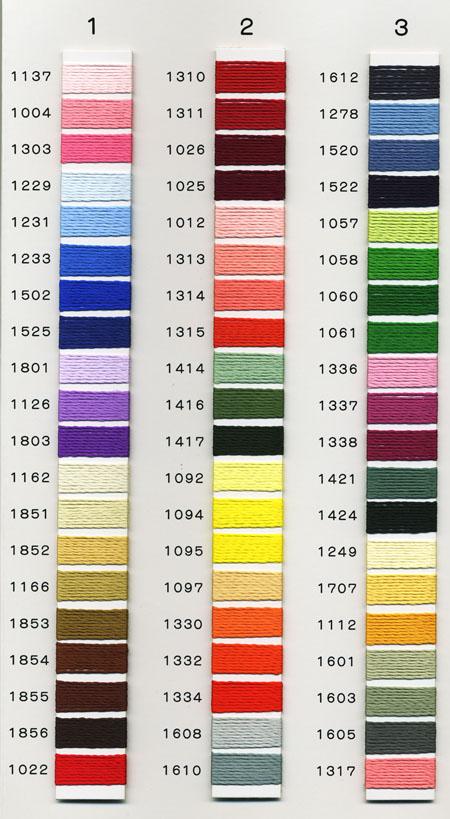人造丝刺绣线◆珍珠帆船SR-2000绣花线/粗线/特殊的线◆05P03Dec16