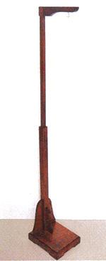 《送料無料》◆木製つり台 TD-10 高さ130~190cm(伸長式)◆パナミ つまみ細工 ちりめん細工 つるし飾りのつり台 下げもの/飾り台/手芸/副資材