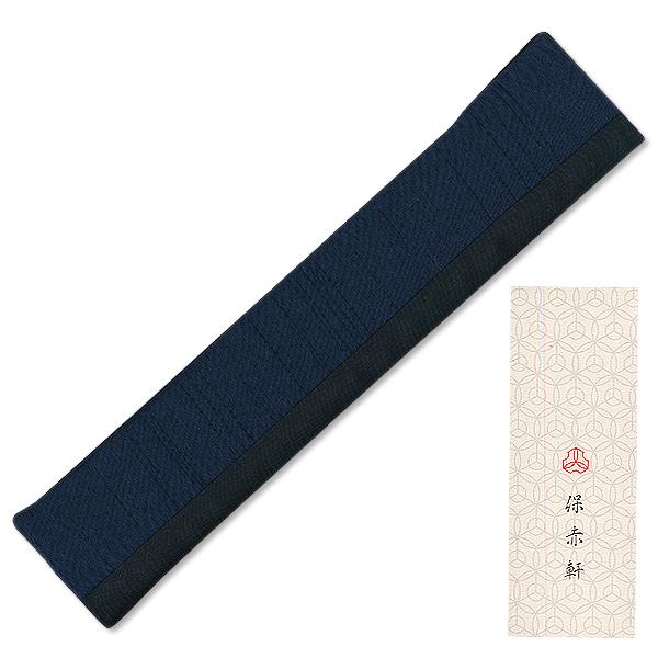 男人的绢扇的豪华礼品设置 ★ 愉悦球迷 Almaer 海军 / 灰