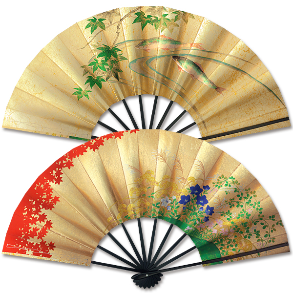 Decorate Japan foreign gift gifts Japanese gadgets for gift-giving luxury  ya memorabilia authentic sect luxury ornament Kyo fan