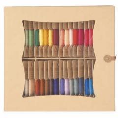 【見本帳付】MOCO(モコ)10m【フジックス】 手縫いステッチ糸 全色60枚入りセット(Aセット)【送料込】