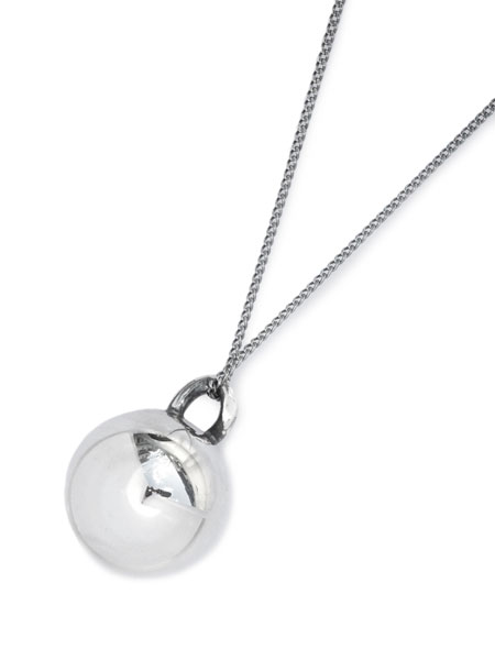 Garden of Eden(ガーデン オブ エデン)【CURB BALL BUTTON NECKLACE/VINTAGE STYLE [ED-VG17-CNK02] カーブボタンネックレス ヴィンテージスタイル】[正規品](ロング/ペンダント/スターリングシルバー/925/プレゼント/ユニセックス/メンズ/レディース)【送料無料】