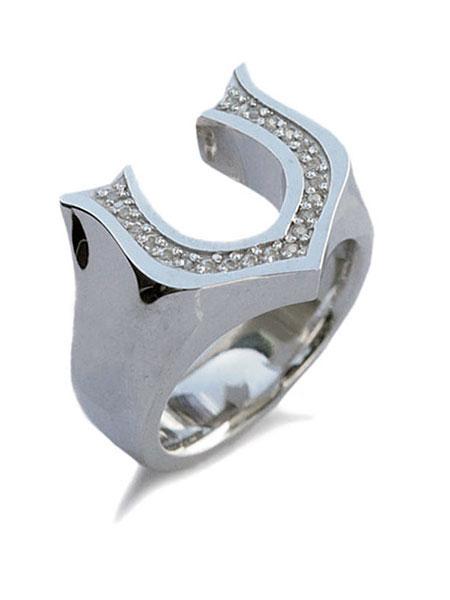 【※ポイント5倍※】GARDEL(ガーデル)【Classic Horseshoe Ring (CL) [GDR-042] / クラシック ホースシュー リング】[正規品](指輪/馬蹄/シルバー925/スターリングシルバー/宝石/ペア/プレゼント/ギフト/ユニセックス/メンズ/レディース)【送料無料】