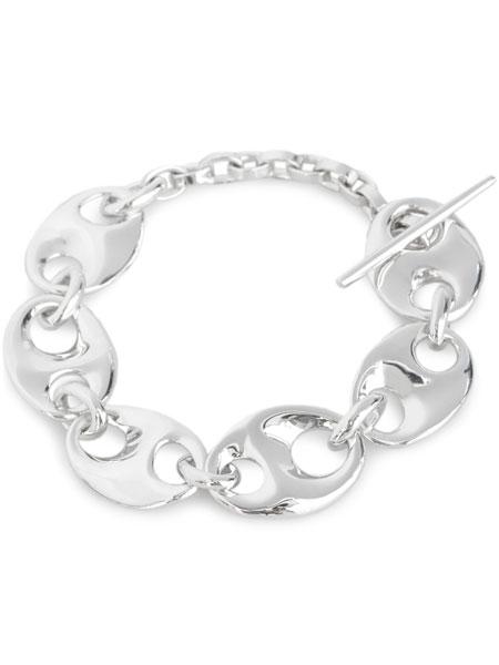 【※ポイント5倍※】MIRAH(ミラ)【B101 RP Silver925 Bracelet (ロジウムコーティング)】[正規品](ブレスレット/シルバー925/銀/ペア/プレゼント/ギフト/ユニセックス/メンズ/レディース)【送料無料】