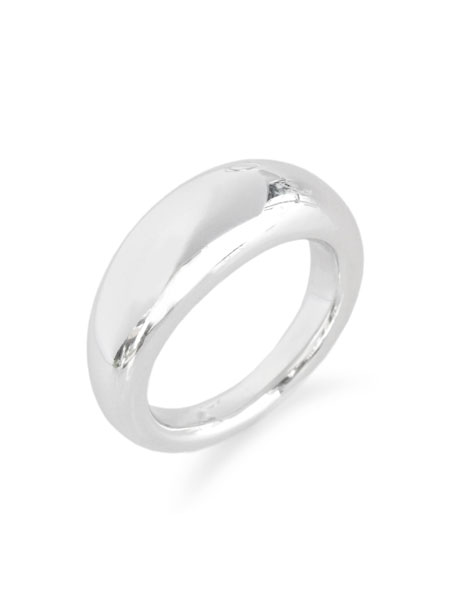 【※ポイント5倍※】MIRAH(ミラ)【R106RP Silver925 Ring (ロジウムコーティング)】[正規品](リング/指輪/月甲丸/シルバー925/銀/ペア/プレゼント/ギフト/ユニセックス/メンズ/レディース)【送料無料】