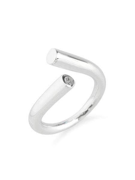 【※ポイント5倍※】MIRAH(ミラ)【R108RP Silver925 Ring (ロジウムコーティング)】[正規品](リング/指輪/シルバー925/銀/ペア/プレゼント/ギフト/ユニセックス/メンズ/レディース)【送料無料】