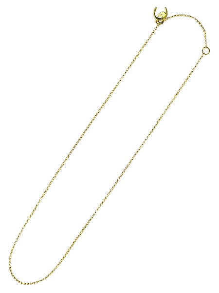 【※ポイント5倍※】GILES & BROTHER(ジャイルス・アンド・ブラザー)【Convertible Rolo Chain (Gold vermeil) / コンバーチブル ロロ チェーン ゴールド ヴェルメイユ タイプ】[正規品](ネックレス/長さ調節可能/メンズ/レディース)【送料無料】