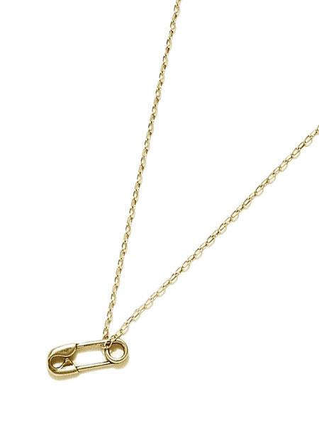 【※ポイント5倍※】GILES & BROTHER(ジャイルス・アンド・ブラザー)【SAFETY PIN TINY CHARM (Gold vermeil) / セーフティー ピン タイニー チャーム】[正規品](ネックレス/ペンダント/調節可能/メンズ/レディース)【送料無料】