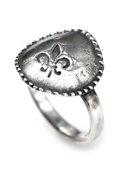【※ポイント5倍※】HARIM(ハリム)LILY Ring (Small) / [HRR029] リング 指輪 シルバー メンズ レディース【送料無料】