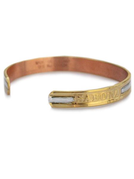 Sabona London サボナロンドン Clic Duet Cuff Bracelet Clical Music Caph Bangle