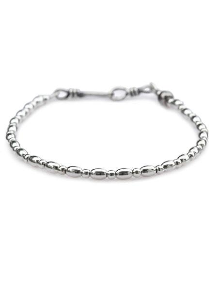 【※ポイント5倍※】SunKu(サンク・39)Silver Small Beads Bracelet / [SK-120] シルバースモールビーズブレスレット 銀 メンズ レディース【送料無料】