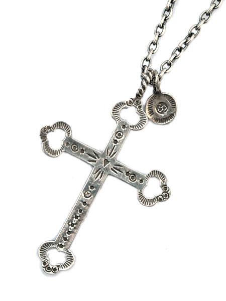 【※ポイント5倍※】SunKu(サンク・39)Kita Cross Necklace / [SK-061] クロスネックレス ペンダント シルバー 銀 十字 ネイティブクロス インディアンジュエリー メンズ レディース【送料無料】