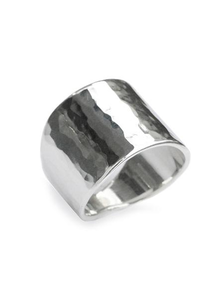 【※ポイント5倍※】TSUNAIHAIYA (ツナイハイヤ)【Texturerized Ring (Tsuime) テクスチャライズ リング (ツイメ) 】[正規品](指輪/幅広/ワイド/スターリングシルバー/叩き/鏡面/銀/925/ペア/ギフト/プレゼント/ユニセックス/メンズ/レディース)【送料無料】